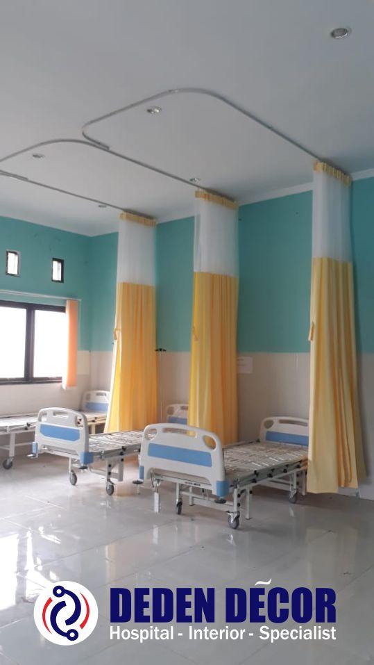 Gorden Rumah Sakit Full Plastik